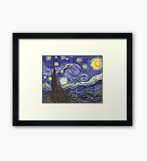 Vincent van Gogh, Starry Night.  Framed Print