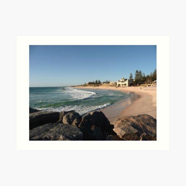 Cottesloe Beach, Western Australia Art Print
