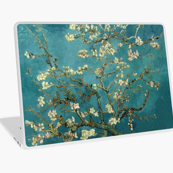 Vincent van Gogh, Blossoming Almond Tree Laptop Skin