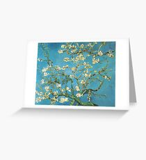Vincent van Gogh, Blossoming Almond Tree Greeting Card