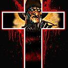Freddy Krüger-Cross von American  Artist