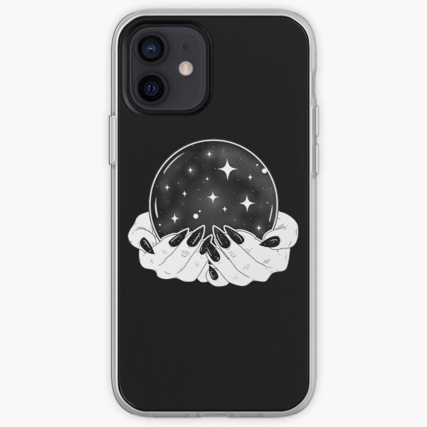 Crystal Ball - Witch Hands iPhone Soft Case
