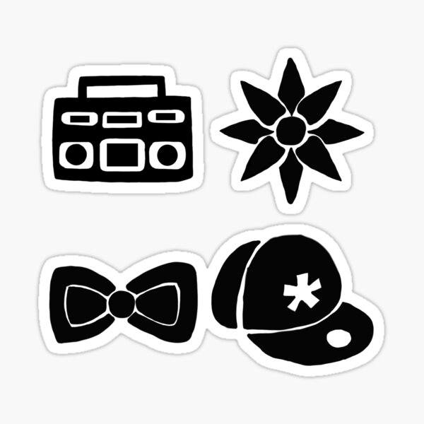 Little Mix - symbols Sticker