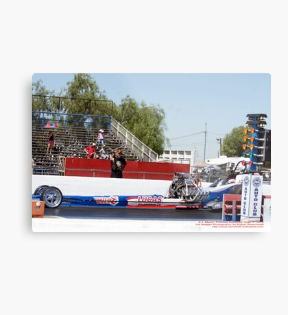 A.J. Martin Drag Racing; Fomosa Raceway, CA USA Metal Print