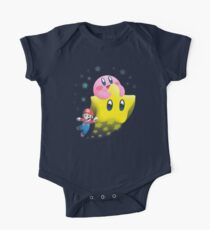 Body de manga corta para bebé Kirby's Joyride