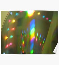 Prism rainbow Poster
