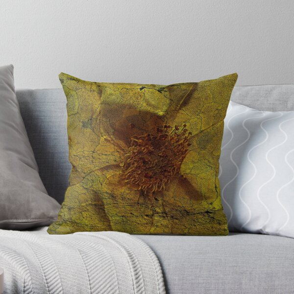 Floral Symbiosis 5 Throw Pillow