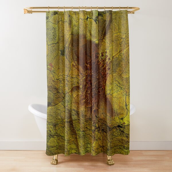 Floral Symbiosis 5 Shower Curtain