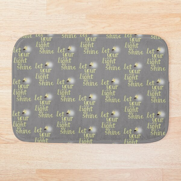 Firefly Encouragement Card and gift Bath Mat