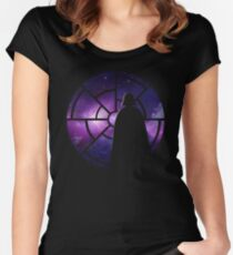 SLEEPLESS NIGHT Women's Fitted Scoop T-Shirt