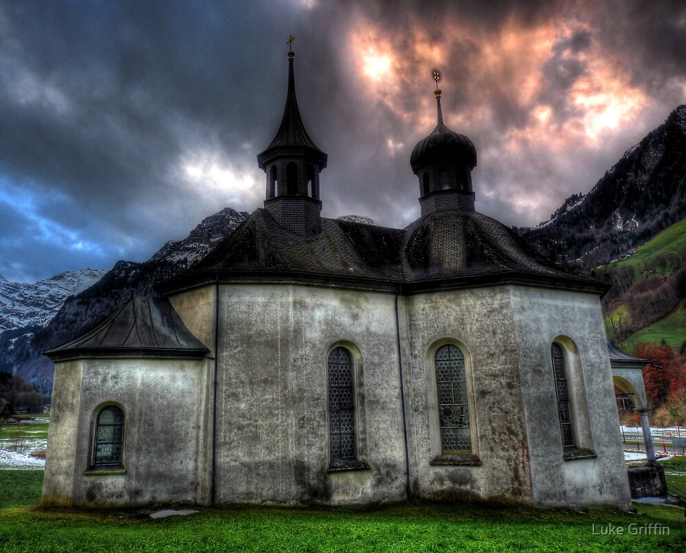 Chapel On The Hill. by Luke Griffin