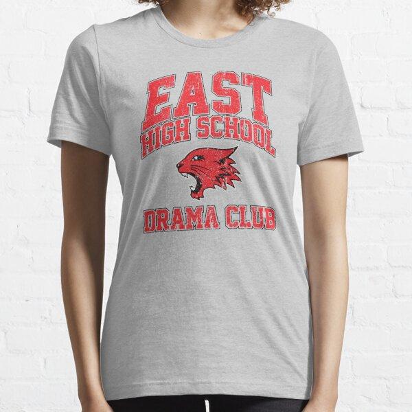 Club de théâtre du lycée de l'est (variante) T-shirt essentiel
