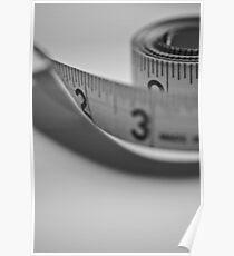 Tape Measure Poster