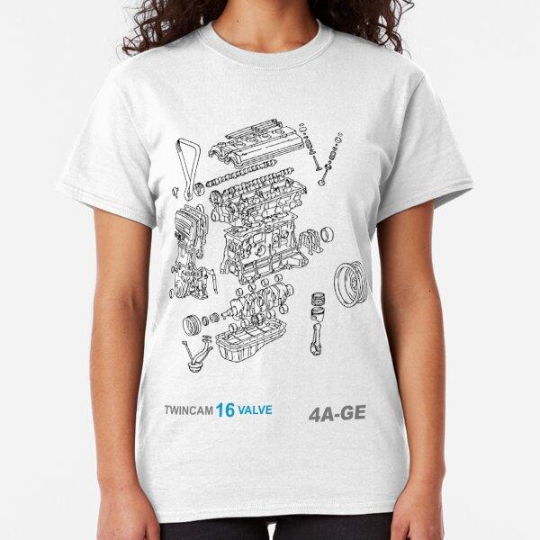 T-shirt Toyota AE92 Corolla Levin GT APEX GT-Z Sprinter Trueno 4A-GZE