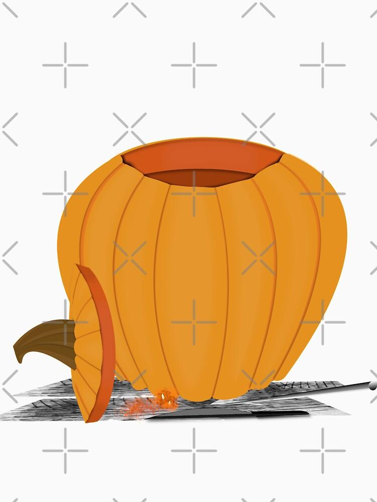 Carving a Pumpkin by ButterflysAttic