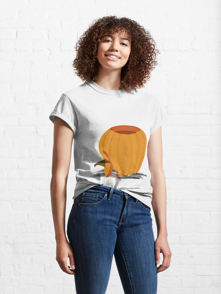 Alternate view of Carving a Pumpkin Classic T-Shirt