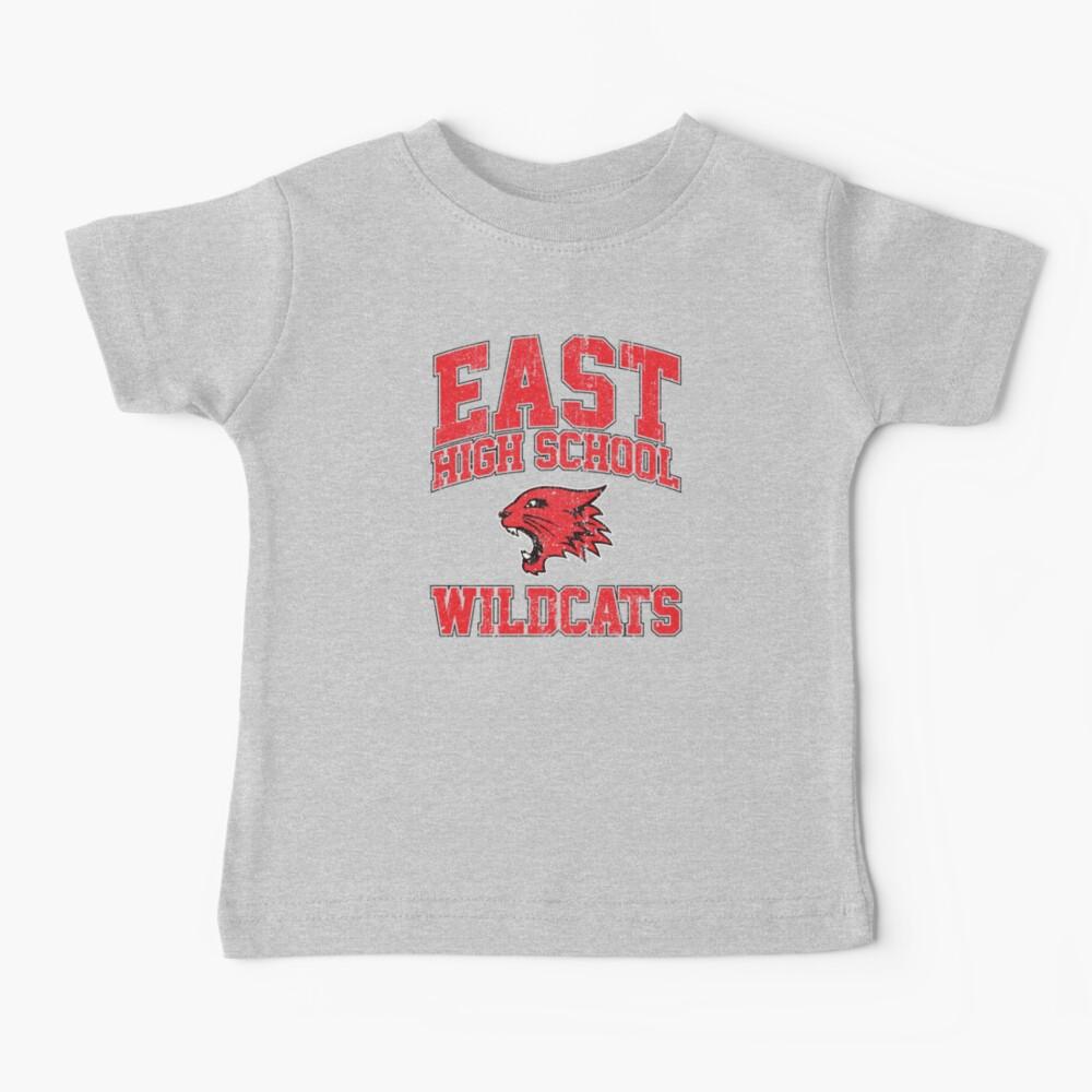 East High School Wildcats (Variant) Baby T-Shirt