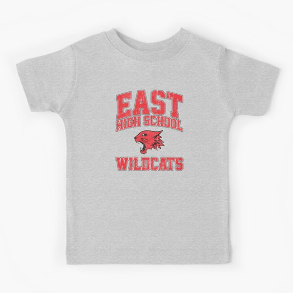 East High School Wildcats (Variant) Kids T-Shirt