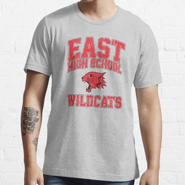 Gatos monteses de la escuela secundaria del este (variante) Camiseta esencial