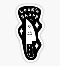 Look'n Sharp Sticker