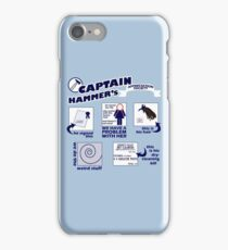 Captain Hammer's Appreciation Society iPhone Case/Skin