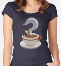 Mystery Tea Women's Fitted Scoop T-Shirt
