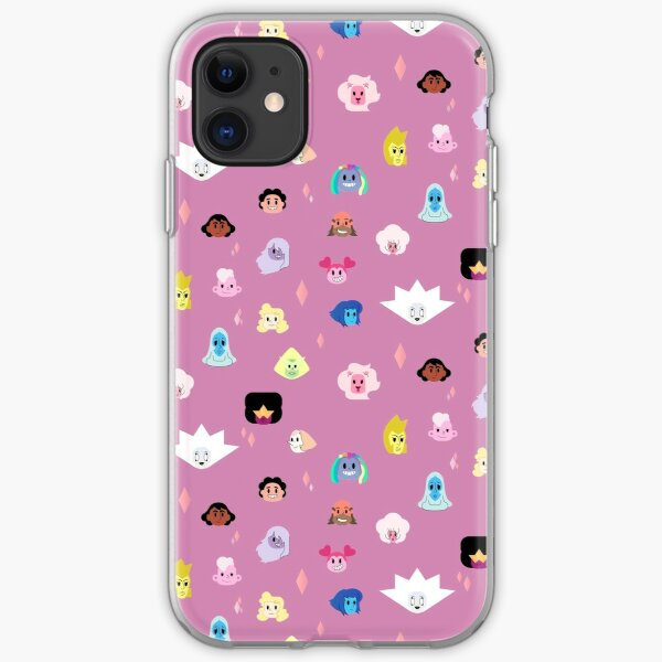 Steven Universe the Movie pattern iPhone Soft Case