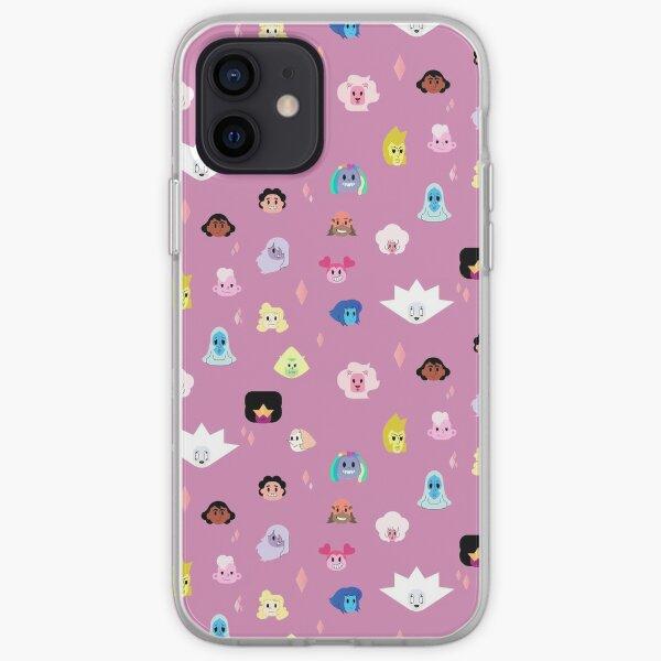 Steven Universe the Movie pattern iPhone Soft Case