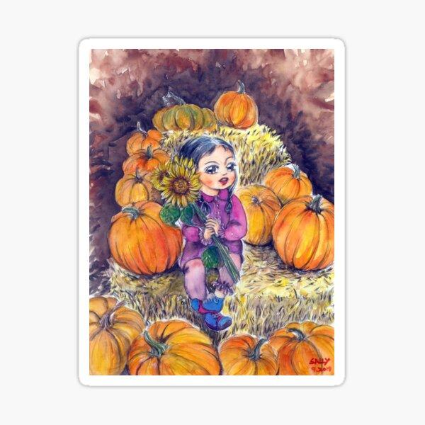 Pumpkin patch 2 Sticker