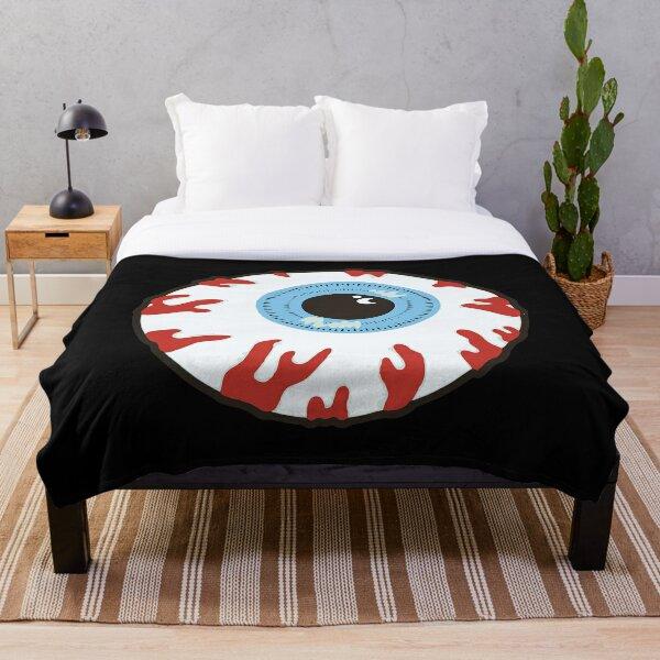 Mishka Eyeball Throw Blanket