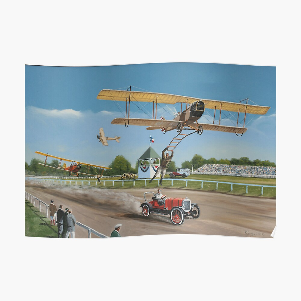 The Flying Circus Poster