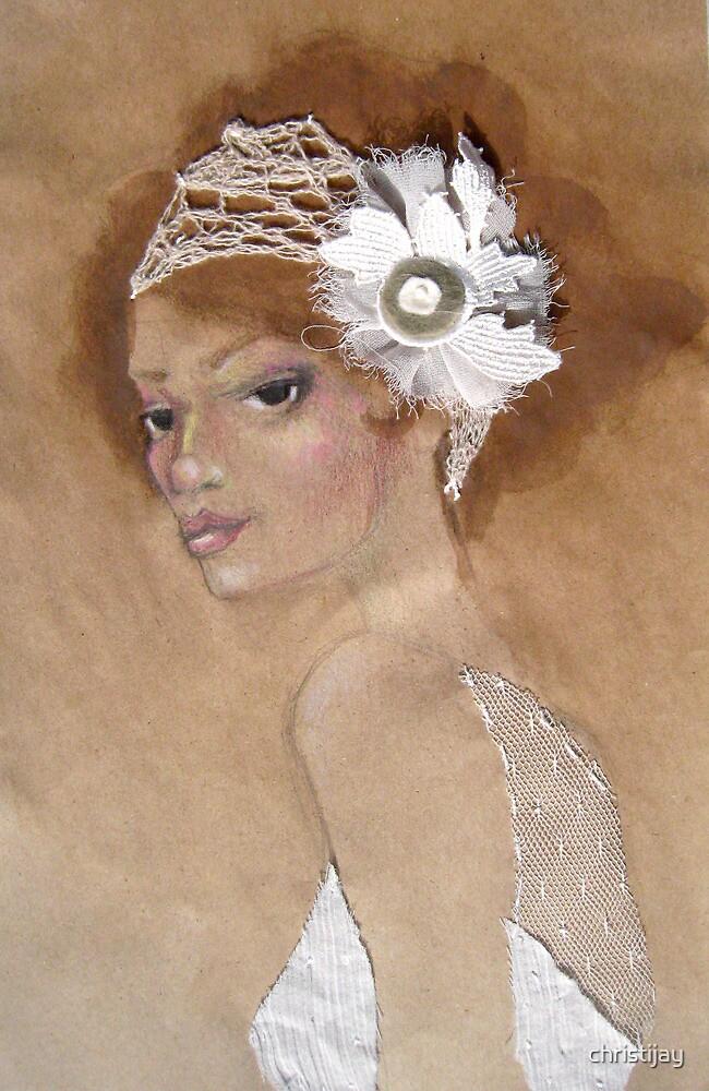 Ivory Headpeice by christijay