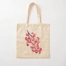 O Ginkgo Cotton Tote Bag