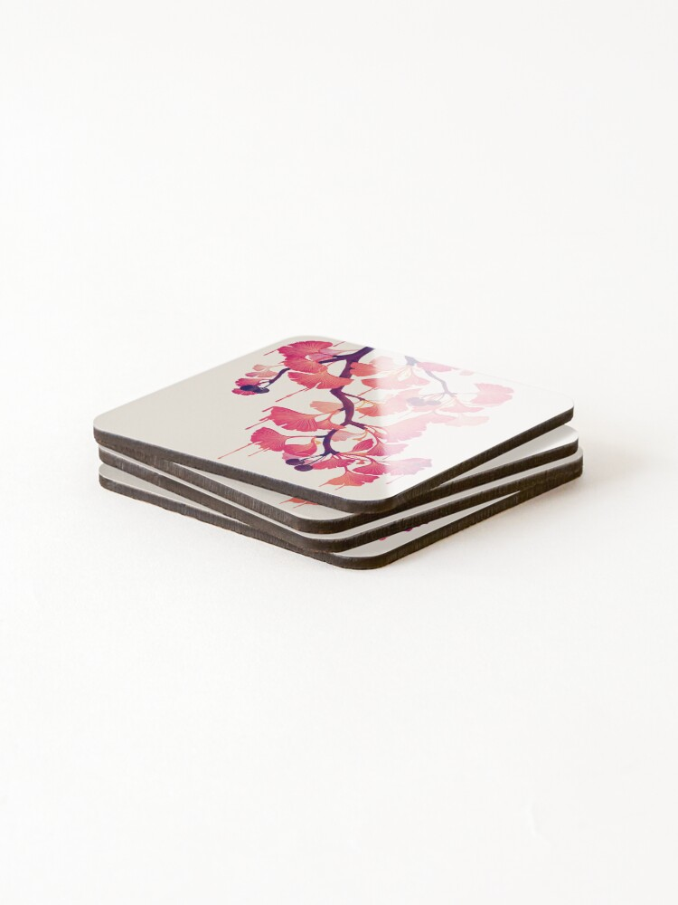 Alternate view of O Ginkgo Coasters (Set of 4)