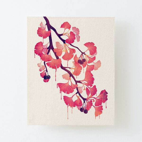O Ginkgo Canvas Mounted Print