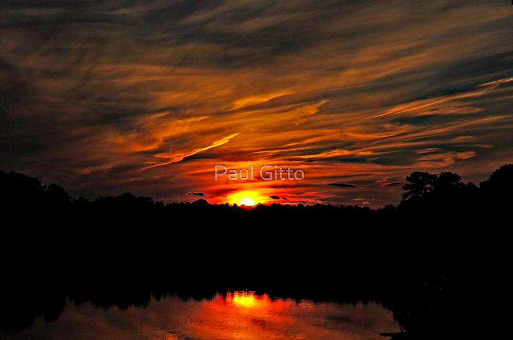 Fiery Night III by Paul Gitto