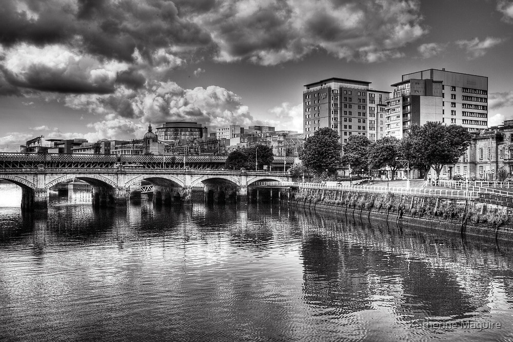 The River Clyde in Glasgow by Katherine Maguire