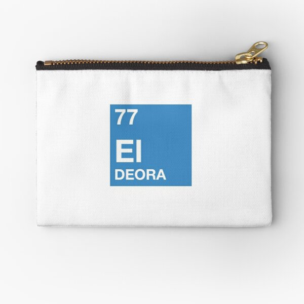 77 El Deora -Periodic Table Zipper Pouch