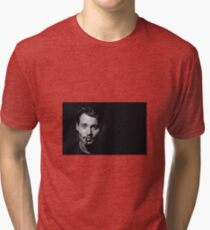 Johnny - Cigar Tri-blend T-Shirt