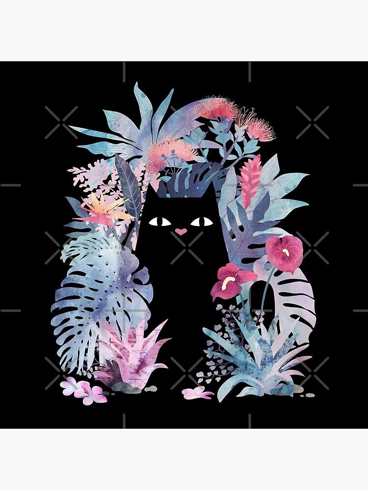 Popoki (Pastel Black Velvet) by littleclyde