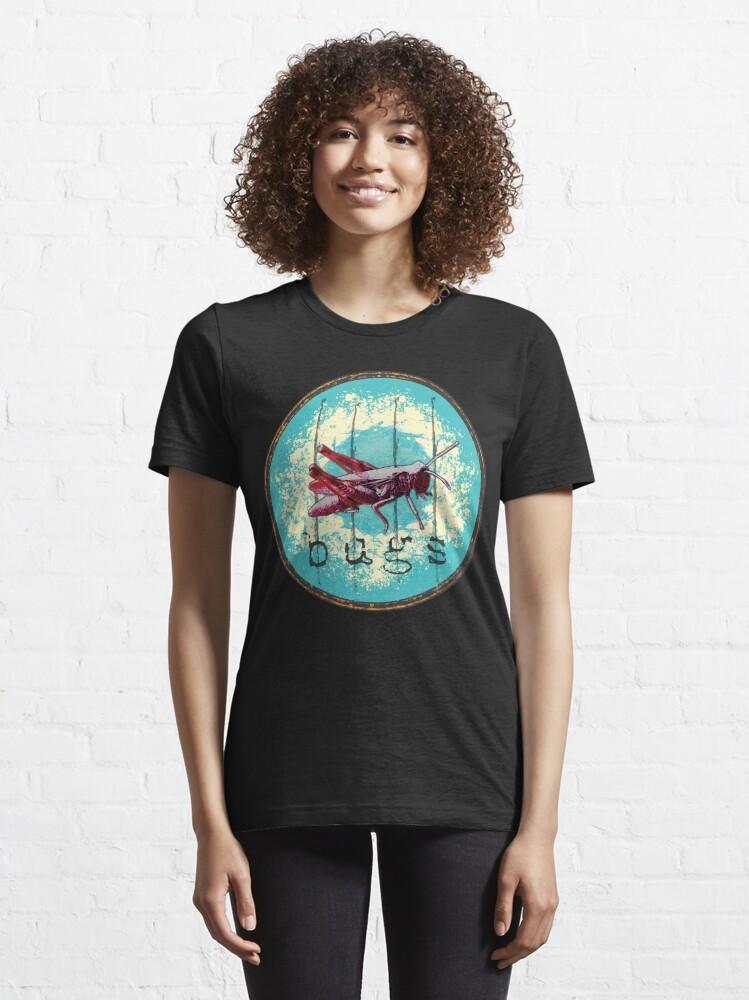 Alternative Ansicht von  Heuschrecke Popart22 Essential T-Shirt