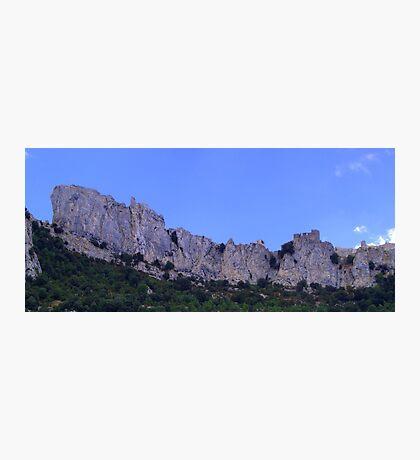 Chateau de Peyrepertuse Photographic Print