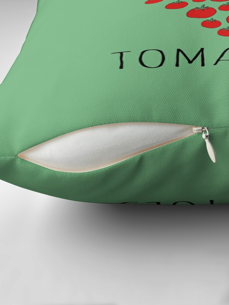Alternate view of I LOVE YOU FROM MY HEAD TOMATOES Throw Pillow