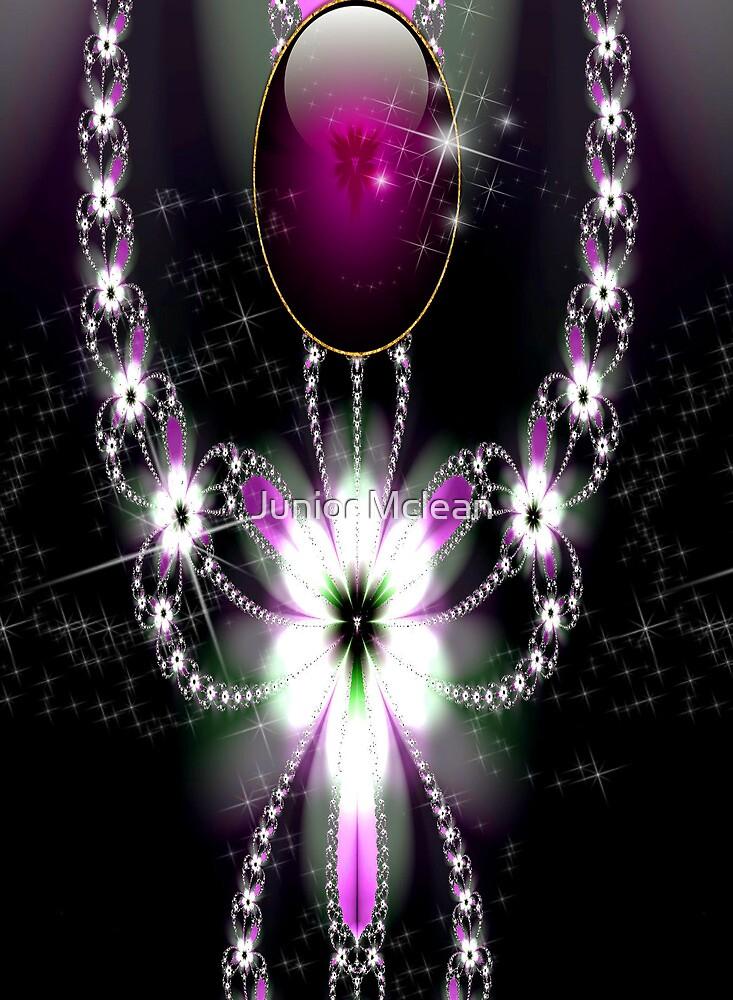Shadow Flower Jewel # 1 by Junior Mclean