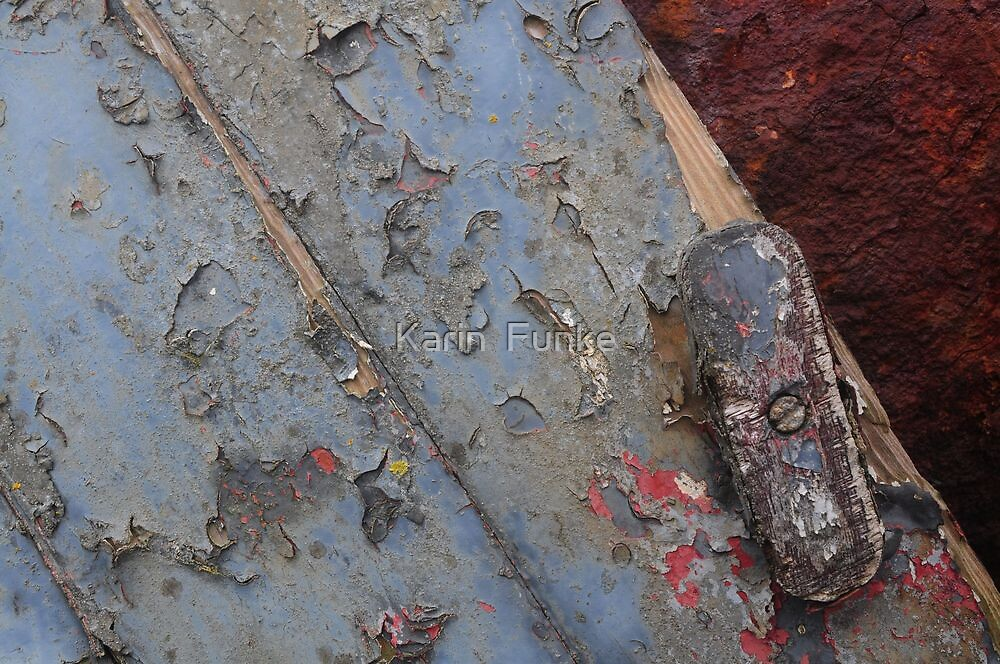 Detail on Ship Wreck II by Karin  Funke
