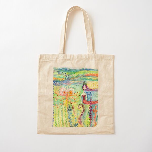 Tales in Paradise Cotton Tote Bag