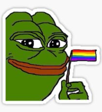 Gay Pepe Sticker
