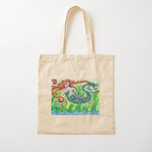 Underwater Star  Cotton Tote Bag