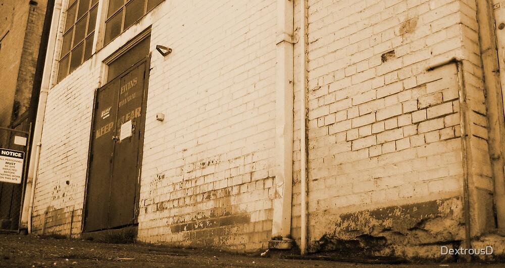 Sepia Wall by DextrousD
