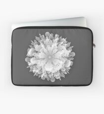 Abstract 3D Paper City  Laptop Sleeve
